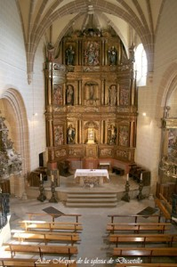 ALTAR MAYOR IGLESIA